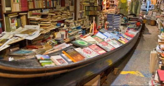 books in boats