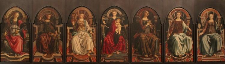 Botticelli+P.Pollaiolo_-_theological_and_cardinal_virtues_-_Uffizi